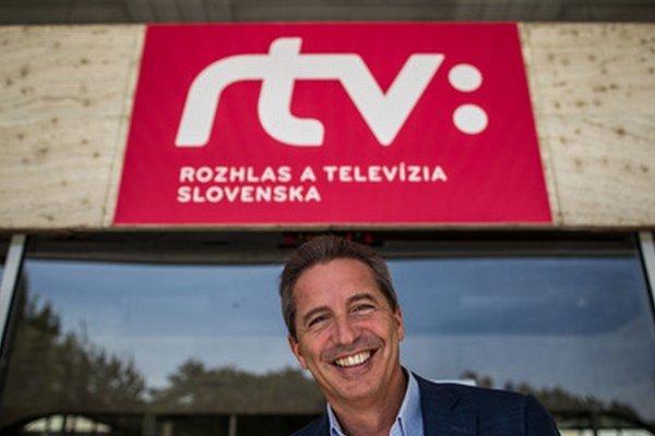 Šéf RTVS Václav Mika.