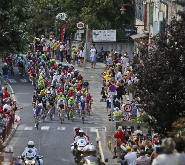 Jedenásta etapa na Tour de France priniesla zaujímavé predstavenie.