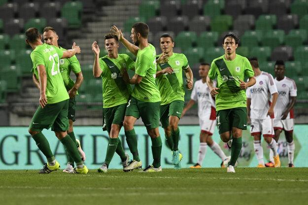 Futbalisti Olimpije Ľubľana dokázali odvrátiť hroziacu katastrofu a znížili z 0:4 na 3:4.