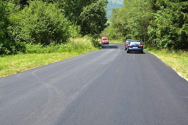 Oprava cesty stála štvrť milióna eur.
