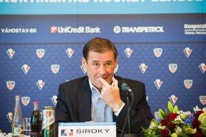 Podnikateľ Juraj Široký starší bol oficiálnym majiteľom Slovana od roku 2002.