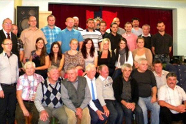 Hasiči z Poluvsia si pripomenuli 90. výročie založenia zboru.