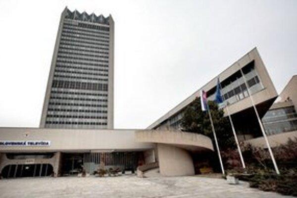 Budova Slovenskej televízie v Mlynskej doline.
