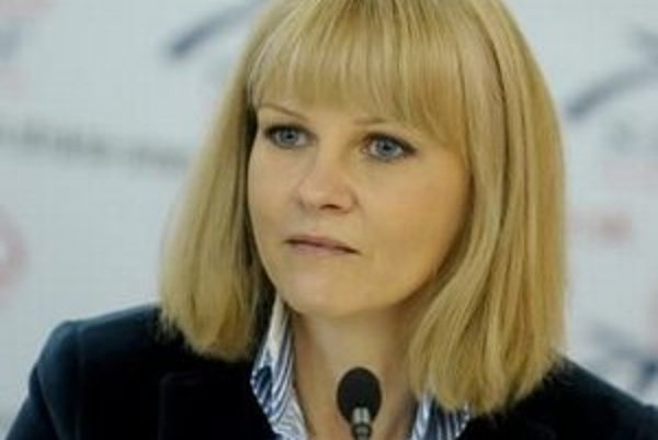 Ministerka zdravotníctva Zuzana Zvolenská (Smer).