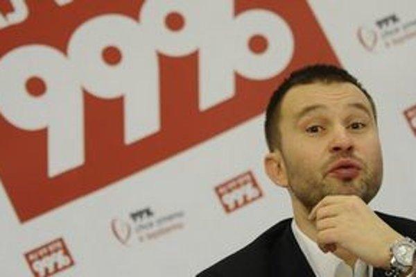 Kandidát strany 99 percent a bývalý moderátor Pavol Pavlík.