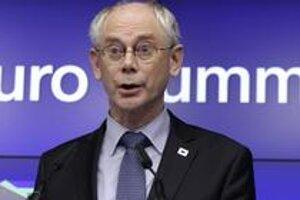 Predseda Európskej rady Herman Van Rompuy.