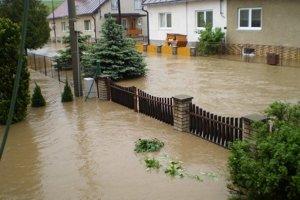 Podolínec. V nedávnej minulosti tu zažili viacero povodní.