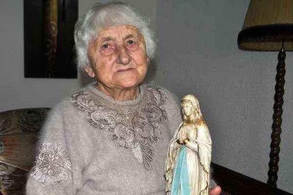 Zlatá seniorka. Anna Závacká z Chmeľnice.