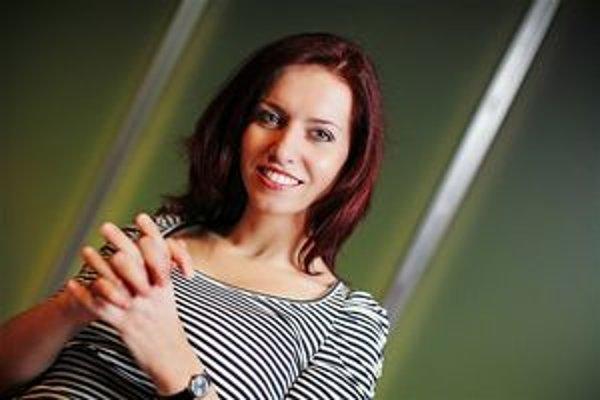 Moderátorka programu Nora Fridrichová.