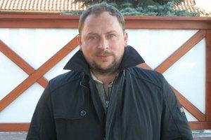 Kouč Plavnice Marián Solotruk. Plavnický tréner si zimnú prípravu pochvaľuje.