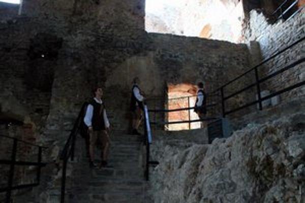 Renesančný palác. Na hrade zachránili veľký kus histórie.