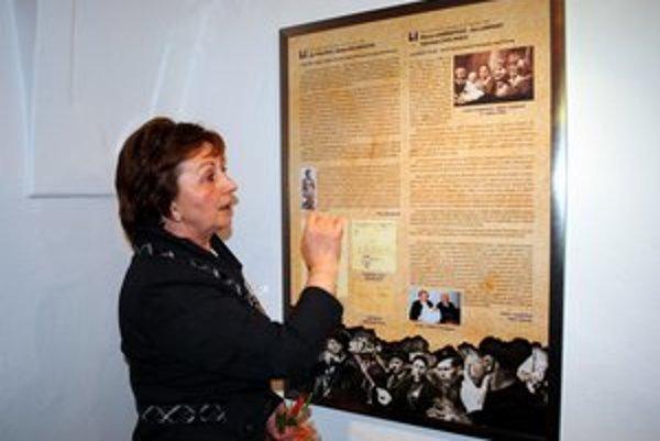 Hrdinský príbeh. Veľa o ňom zisťovala aj historička Monika Pavelčíková. Statočnosť Lampartovcov je súčasťou výstavy.
