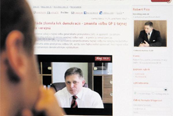 Okrem článku pridal Robert Fico na svoj blok aj dve videá.