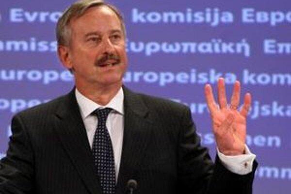 Eurokomisár Siim Kallas.