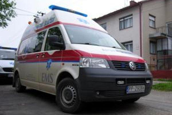 Záchranári z EMS zasahujú nielen na území okresu Stará Ľubovňa, ale aj v ďalších častiach Spiša.