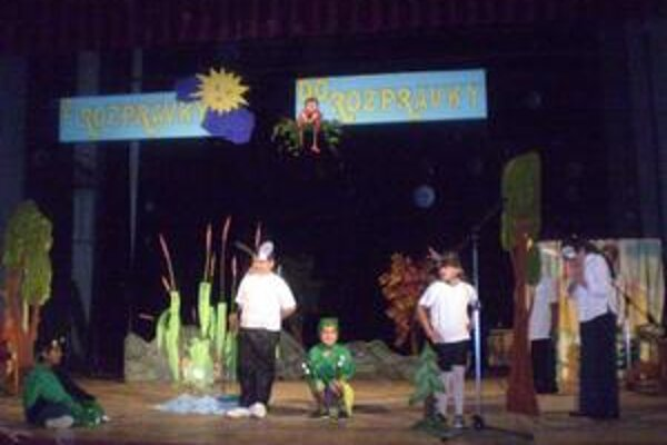 Predviedli sa. Deti zo špeciálnych škôl dokázali zaujať i potešiť vďačné publikum.