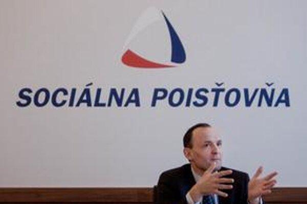 Generálny riaditeľ Sociálnej poisťovne Ľuboš Lopatka.
