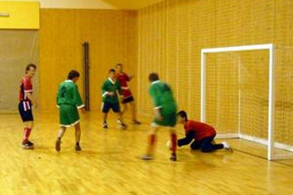 V sobotu pokračovala futsalová liga.