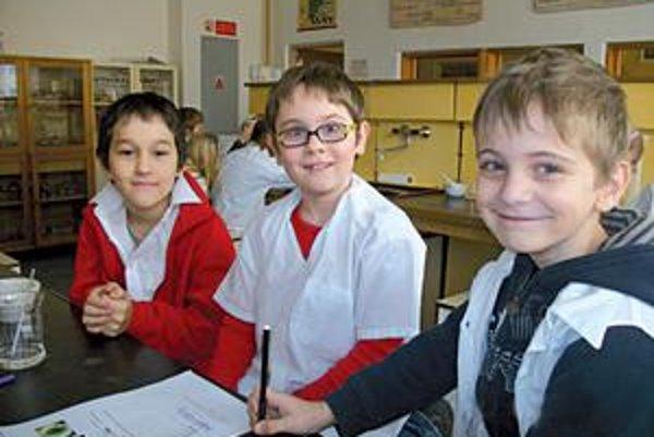 Mladí objavitelia. Zistili, že veda môže byť aj príťažlivá.