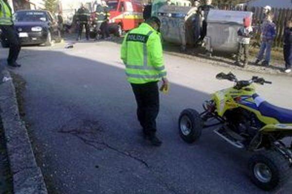 Adrenalínová jazda. Prípad riešili policajti zo Starej Ľubovne.