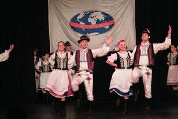Nový tanec - šarišská polka.