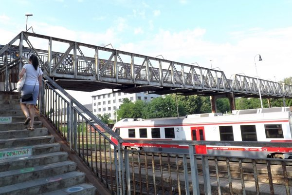 Mesto dá urobiť posudok aj na most, ktorý vedie ponad železničnú trať.