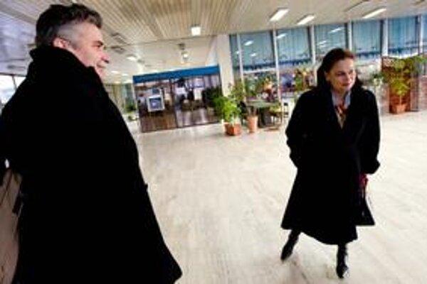 Doterajšia riaditeľka SRo Miloslava Zemková prichádza do STV aby sa ujala dočasného vedenia novovzniknutej inštitúcie.