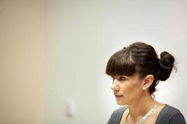 Štátna tajomníčka rezortu práce Lucia Nicholsonová.