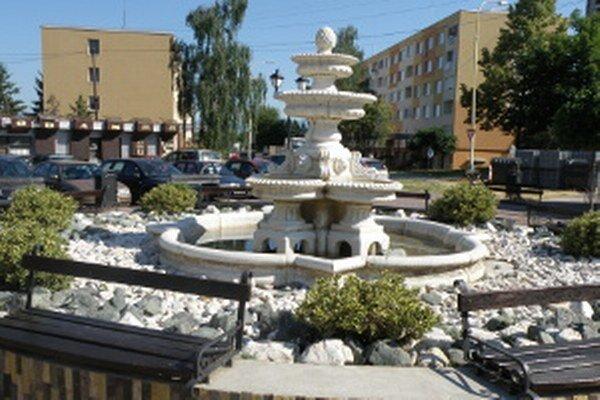 V Prievidzi je v súčasnosti len jedna funkčná fontána na sídlisku Kopanice.