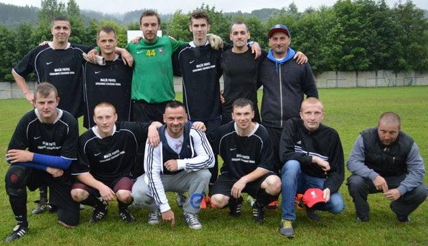 TJ Slovan Rudinská obsadil druhé miesto.