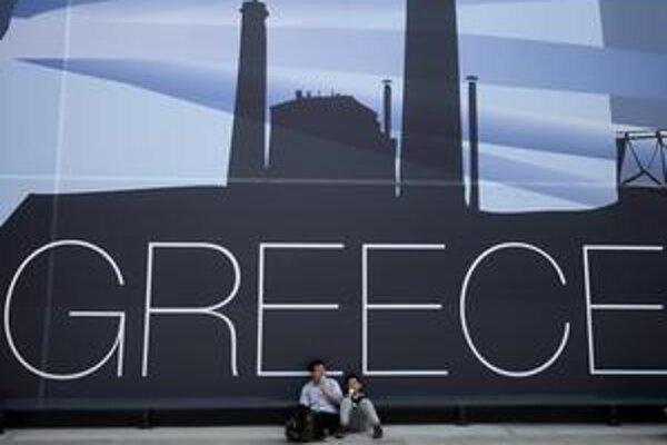 Na svetovej výstave v Šanghaji Expo 2010 nechýba ani grécky pavilón. Stredomorská krajina si však už väčšiu reklamu urobila na svetových burzách. Ako krachujúci štát.