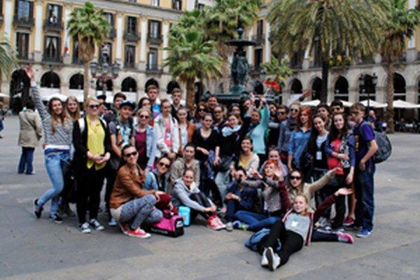 Študenti navštívili aj Španielsko.