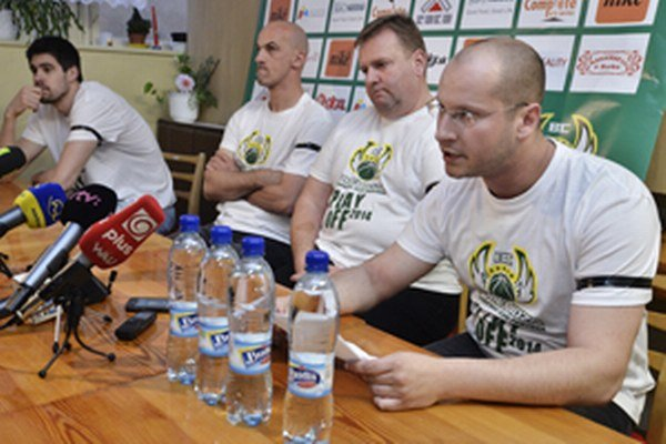 Manažér BC Prievidza Martin Boško.