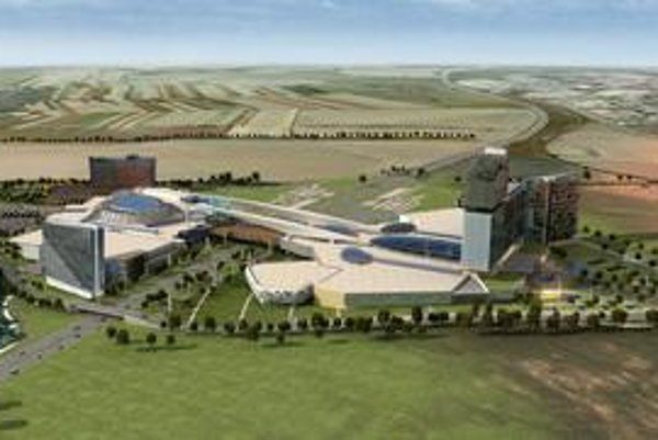 Takto by mohlo vyzerať európske centrum hazardu a zábavy – Metropolis. Investori však ešte nevedia, či je táto podoba konečná.