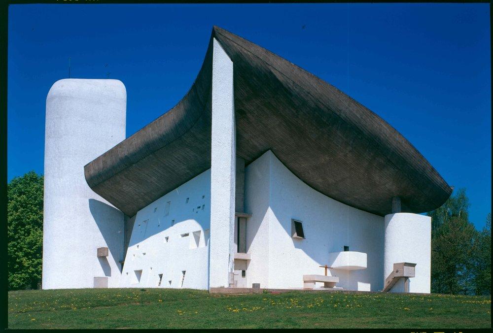 Kaplnka Notre-Dame du Haut