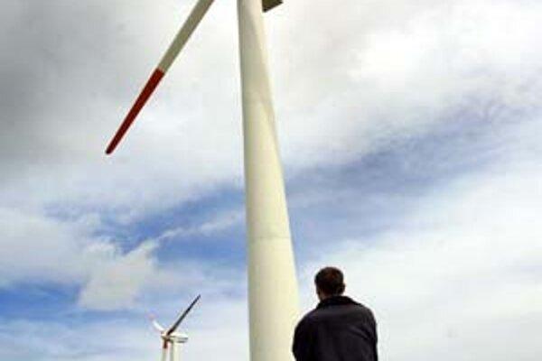 Záujem firiem o investovanie do veterných elektrární rastie.