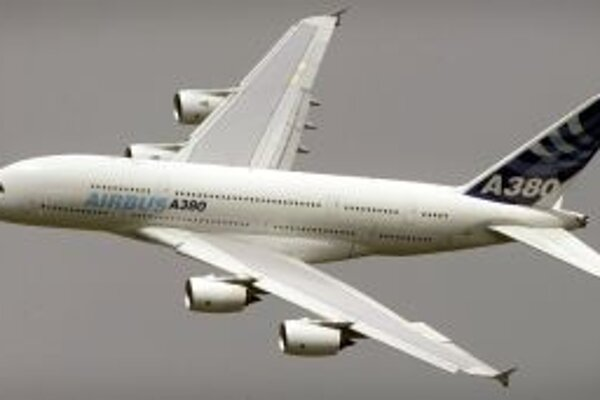 Superjumbo A380.