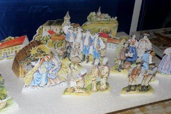 Prievidzský betlehem vytvorila Soňa Beláková.