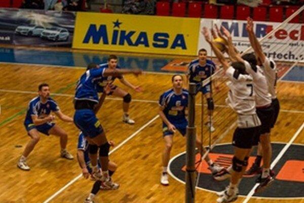 Záber z pohárového duelu Prievidza - Myjava.