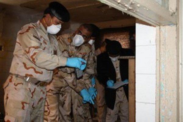 V Novákoch sa vojaci z Iraku učili rozpoznávať a zneškodňovať výbušniny.