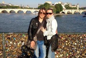 Aj my mame svoj zámok v Paríži na Pont de Arte.