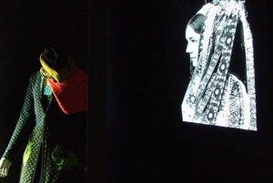 Z výstavy slovenskej módy v rámci projektu International Fashion Showcase počas Londýnskeho týždňa módy.