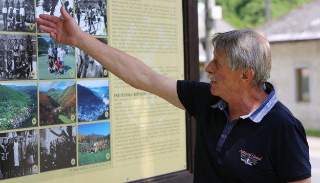 Starosta Ján Lupták je na históriu a súčasnosť obce hrdý.