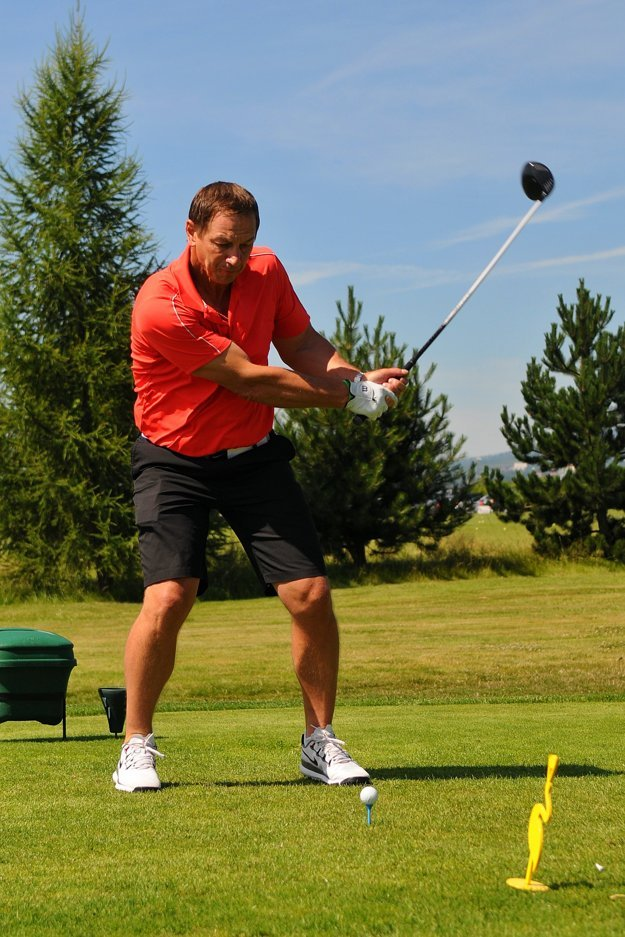 Peter Bondra je vášnivý golfista.