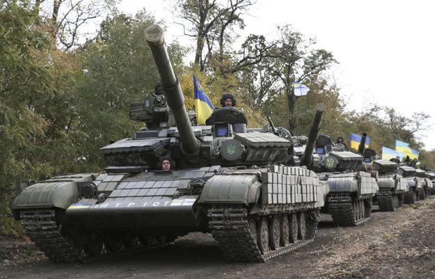Ukrajinské tanky.