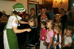 Deti stretnú slúžku Betku počas prázdnin na bojnickom zámku.