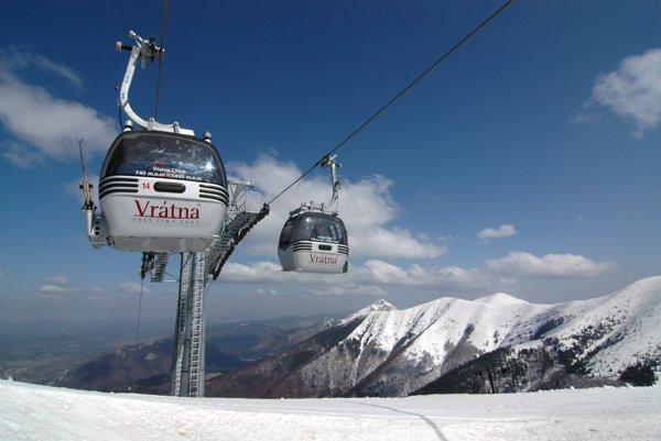 Malá Fatra je jedným z najnavštevovanejších zimných regiónov na Slovensku.