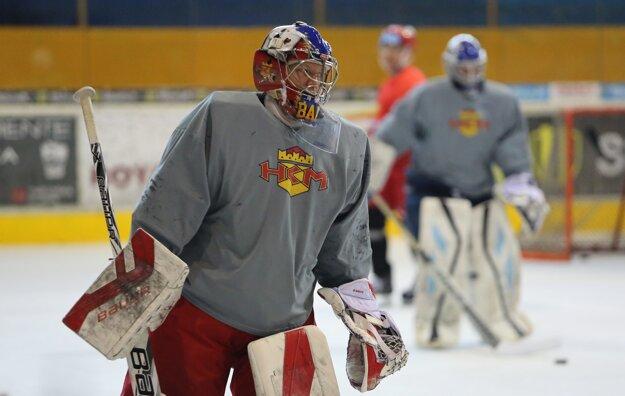 Samuel Baroš na ľade