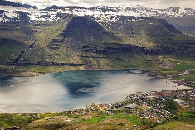 Islandské fjordy.