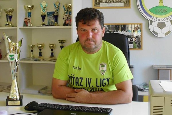 Attila Visnyai, prezident FTC Fiľakovo.
